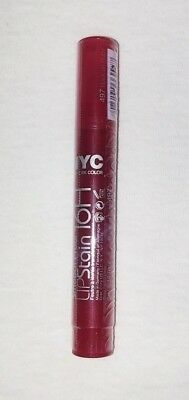 NYC Smooch Proof 16 Hour Lip Stain 497 Rock On Ruby New Factory Sealed HTF