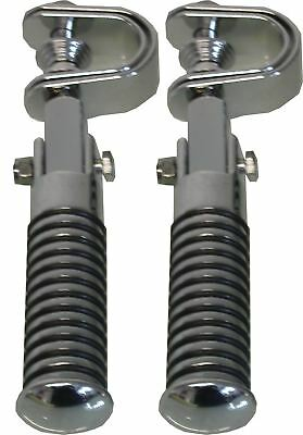 Footrests Clamp On Sundance pegs for highway bars