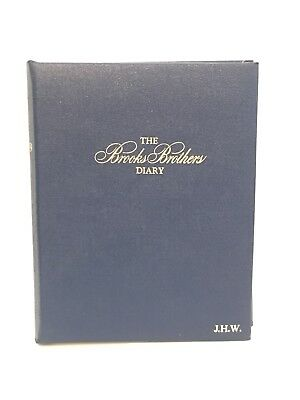 Vintage 1979 Brooks Brothers Record A Day Diary Journal Unused Like New Cond