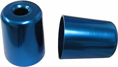 Bar End Weight Covers Blue ZX7R