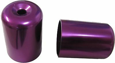 Bar End Weight Covers Purple TL1000S