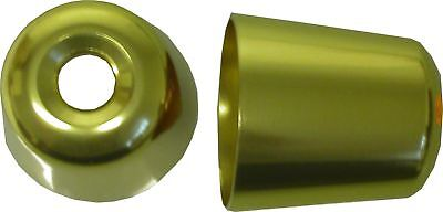 Bar End Weight Covers Gold GPX600,GPZ600R,GPZ750R,900R,1000RX,1100