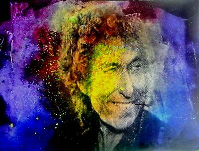 BOB DYLAN.  From An Original Painting By Roldan West/ WCOA