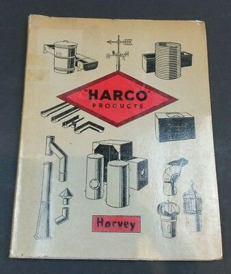 Harvey Harco 1959 Trade Catalogue Vintage ORIGINAL Hardware Architectural 1950s