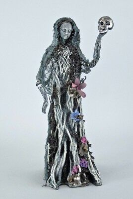 "Katherine's Collection Forest Cemetery 18"" Ghost Tree Lady Halloween Display NEW"
