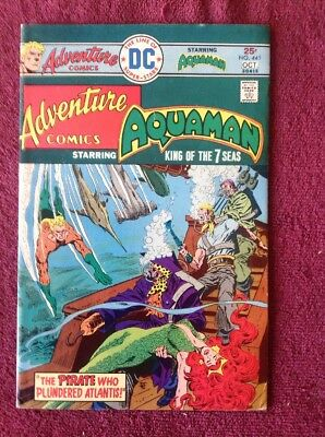 Adventure Comics Aquaman # 441 DC VF 1975