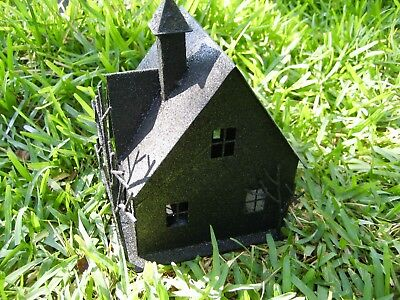 Halloween Haunted House Candle Holder