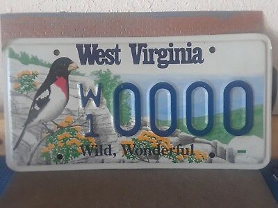 State of West Virginia Sample Plate