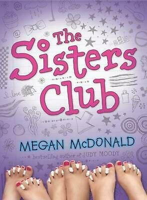 The Sisters Club by Megan McDonald (English) Paperback Book Free Shipping!