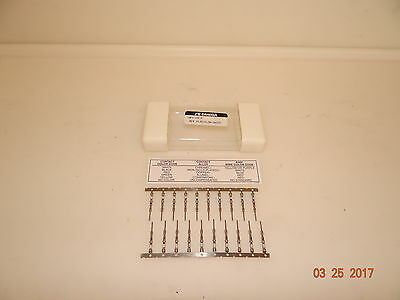 Lot of 80 Omega HPC-CH-P CHROMEGA - Thermocouple Contacts, Push-in Crimp-style