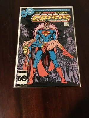 CRISIS ON INFINITE EARTHS #7 (DC; 1985, Death of Supergirl)