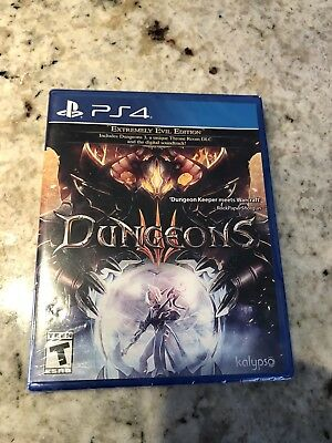 Dungeons III Extremely Evil Edition (Sony PlayStation 4, 2017) SEALED!