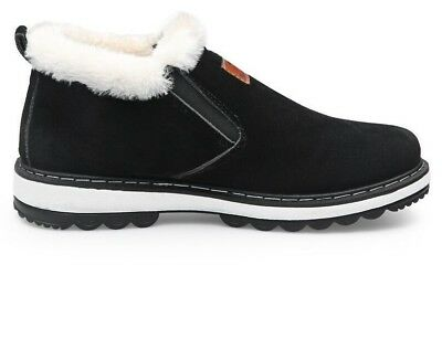 Fashion Winter Men's Boots Wear Resistant Handmade Ankle Boots Warm Casual Shoes