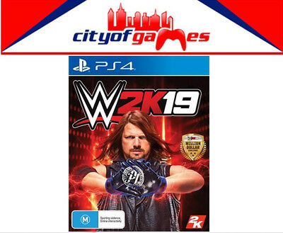 WWE 2K19 PS4 Game Brand New & Sealed In Stock