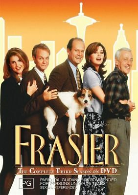 Frasier : Complete Third Series Season 3 (DVD 4-Disc Set) NEW SEALED FREE POST