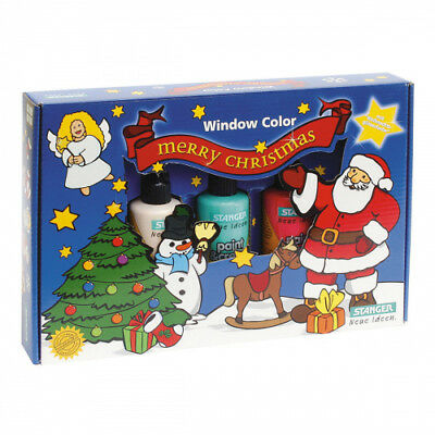 Window Color Set Merry Christmas (5 x 80 ml)
