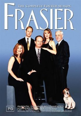Frasier : Complete Fourth Series Season 4 (DVD 4-Disc Set) NEW SEALED FREE POST