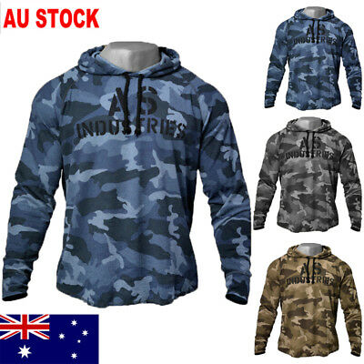 AU New Mens Hoodies Pullover Clothes Jacket Coat Tracksuit Sweatshirt Jumper Top