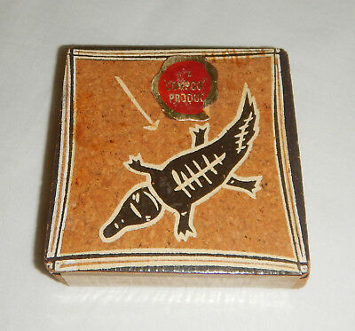 Vintage Sealed Set Of Six Compcork Aboriginal Cork Coasters