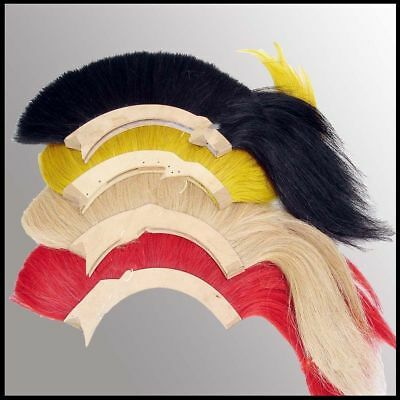 Black_Plume Red Plume White Plume Yellow Plume For Greek Corinthian Armor Helm Q