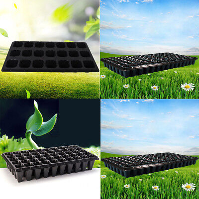 Practical Multi-Cell Seedling Starter Tray Seed Germination Plant Propagation AU