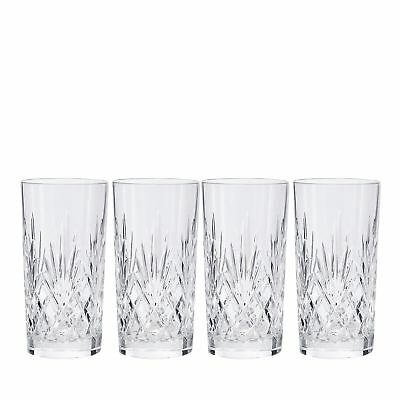 Home Collection Set Of 4 Crystal 'Castalia' Highball Glasses