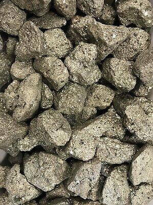 """Bulk Lot of Pyrite Crystals """"FOOLS GOLD"""" (1 POUND LOT)"""