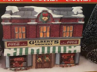 """Coca Cola Town Square Collection """"Gilbert's Grocery"""" 7200  1992"""