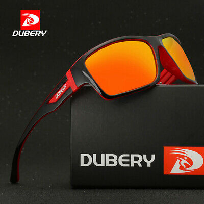 90501a1a24 DUBERY Polarized Sunglasses Women Men Square Cycling Sport Driving Fishing