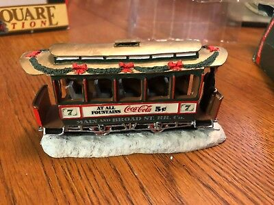 """Coca Cola Town Square Collection """"Old No. 7"""" 1992 64310"""