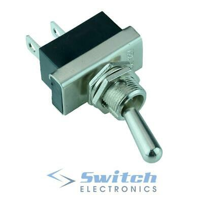 Off-(On) Momentary Toggle Flick Switch 2 Position SPST 25A 12V