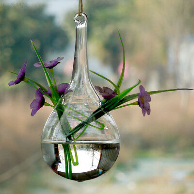 8A90 Hanging Vase Hanging Glass Vase Glass Flower Hydroponic Creative Container