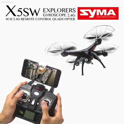 4740 X5CW Explorers-II FPV 4CH 6 Axis RC Quadcopter Drone UFO with 2MP Camera RT