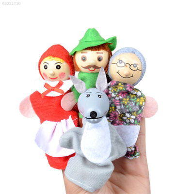 B283 Colorful Plush Finger Doll Finger Doll Toy Educational Keep Warm