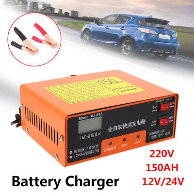 40D0 12V/24V Battery Charger Car Battery Charger Accessories Spare Intelligent