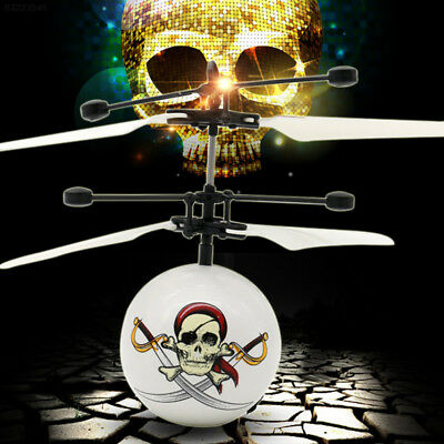 3D02 ABS Induced Aircraft Kids Floating Airplane High Performance Novelty Skull