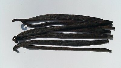 3 Organic vanilla beans – 12 to 15cm - grown in Papua New Guinea. Free postage