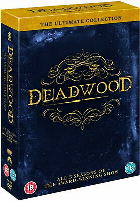 DEADWOOD COMPLETE SERIES 1-3 ULTIMATE COLLECTION DVD Season 1 2 3 Timothy New