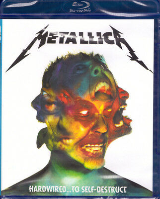 Metallica - Hardwired To Self-Destruct 2016 Blu-Ray