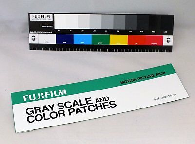 Fujifilm Color Colour Separation Guide with Grey Scale Small Size (210 x 55mm)