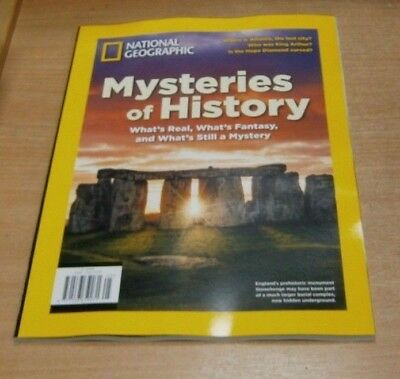 National Geographic magazine Special 2018 Mysteries of History,  King Arthur &