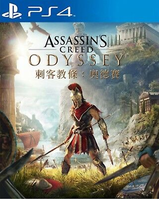 Assassin's Creed Odyssey Asia Chinese/English subtitle PS4 BRAND NEW