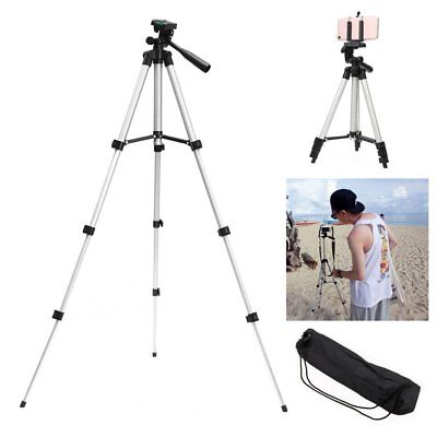 Tripod Stand For Digital Camera Camcorder DSLR SLR Phone iPhone Mount Holder NA