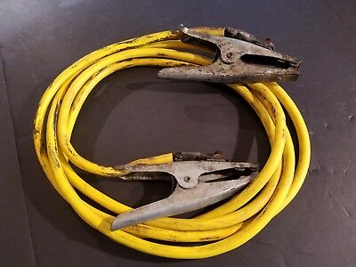 Lincoln Electric 16 ft 1/0 Welding Cable Ground Cable Clamp