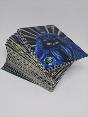 1995 Fleer Batman Forever Metal Trading Cards Complete Set M/NM