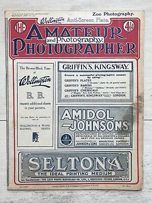 2x 1920 Editions- The Amateur Photographer & Photography ref154