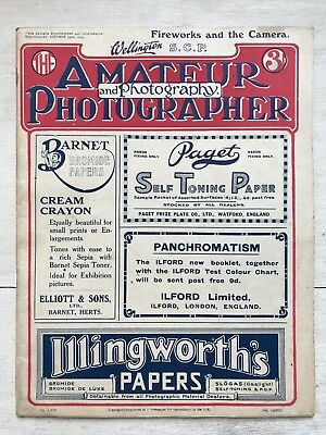 Oct 29th 1919 - The Amateur Photographer & Photography No1616 Vol XLVIII ref154