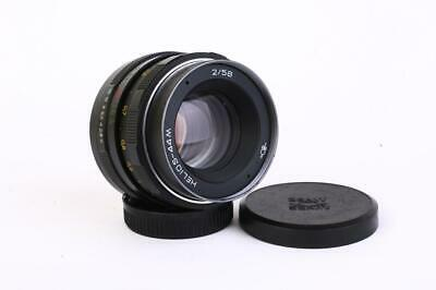 NEW Helios 44M 58mm F/2.0 USSR Lens For Pentax Zenit M42