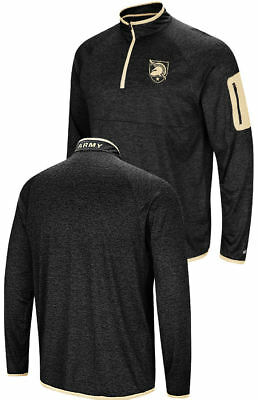 096b7010778c Army Black Knights Black Amnesia Quarter Zip Pullover Synthetic Windshirt