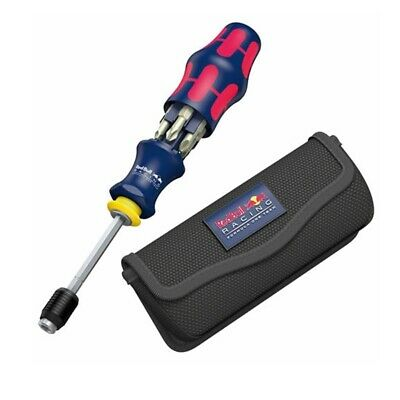 Wera 227702 Red Bull Racing Kraftform Kompakt with Pouch